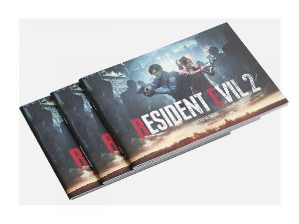 Press kit Resident Evil 2