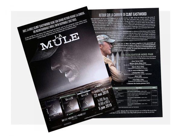 Press kit La Mule