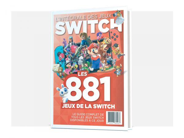 Les 881 jeux Switch – Livre